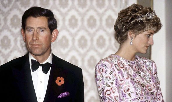 Princess Diana blamed Charles affair for the breakdown of their marriage Image GETTY