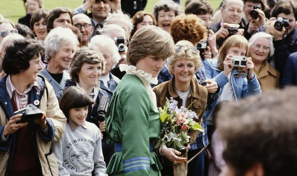Princess Diana had to deal with the cameras her whole adult life Image GETTY