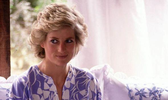 Princess Diana on a royal trip to Saudi Arabia Image GETTY