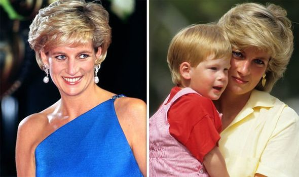Princess Diana shock Diana's secret nickname for Prince Harry revealed her true thoughts Image GETTY