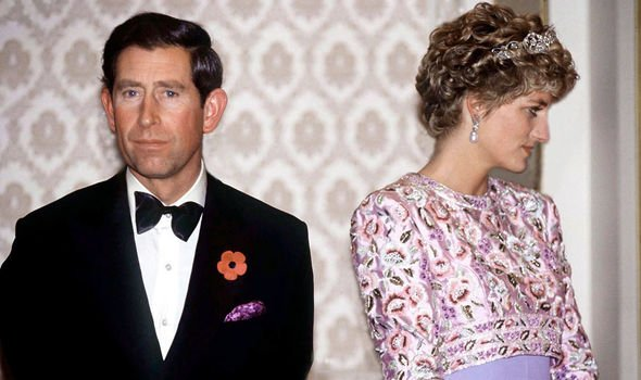 Princess Diana shock Princess Diana was separated from Charles when she gave an explosive Panorama interview Image GETTY