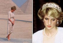 Princess Diana travelled to Egypt in May Image GETTY