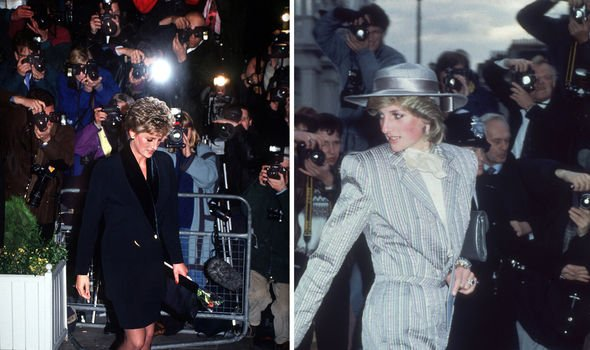 Princess Diana was hounded by the paparazzi Image GETTY