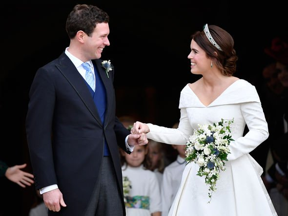 Princess Eugenie married Jack Brooksbank on October Image GETTY