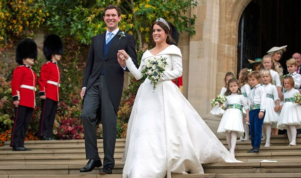 Princess Eugenie tied the knot in October Image Getty