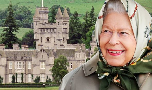 Queen Elizabeth ordered Scottish sweets for Balmoral castle Image GETTY