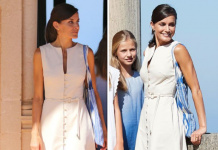 Queen Letizia style The year old kept her jewelry to a minimum Image Getty Images