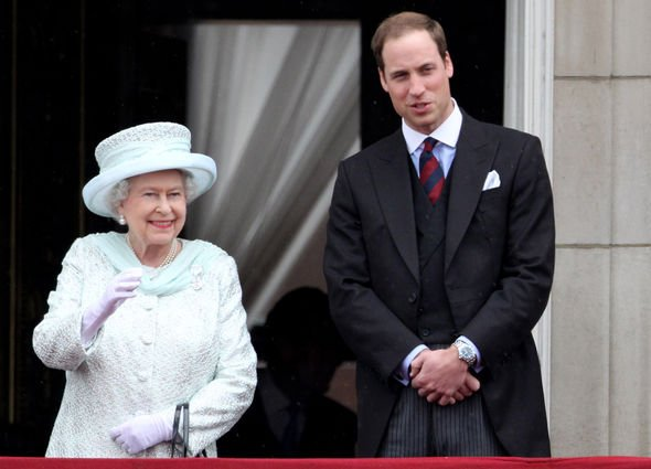 Queen heartbreak The Duke of Cambridge is learning the royal ways from his grandmother Image GETTY