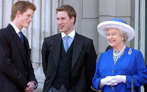 Queen heartbreak The Queen began mentoring William when he was Image GETTY