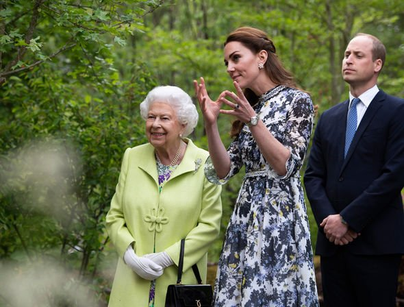 Queen heartbreak The Queen is fond of Prince Williams wife Kate Image GETTY