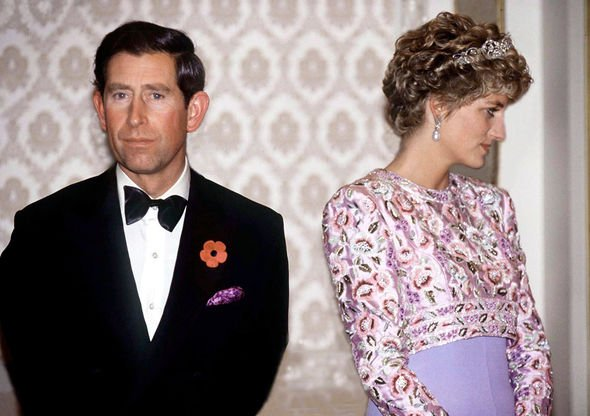 Queen heartbroken Prince Charles and Princess Diana separated in Image GETTY