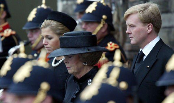 Royal heartbreak Her husband died in Image GETTY
