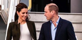 Royal nanny Maria was on hand to help the couple Photo C GETTY IMAGES