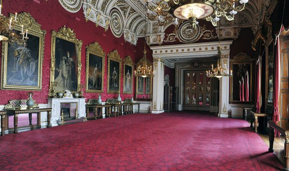 Royal news The palace opens to the public once a year Image GETTY