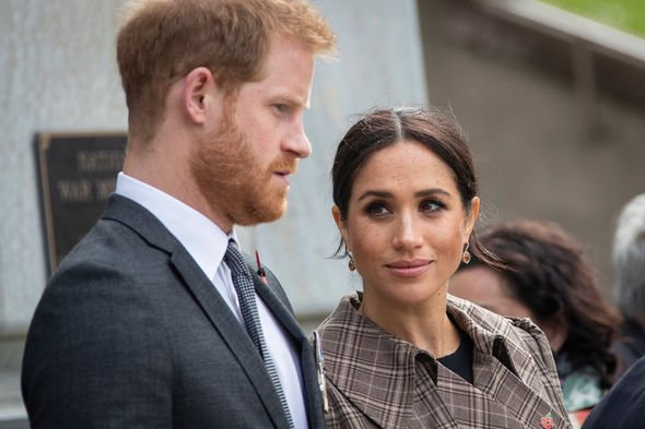 Royal shock Prince Harry and Meghan Markle will soon launch their new charity Image GETTY
