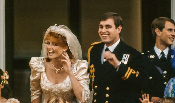 Sarah Ferguson and Prince Andrew married in Image Getty