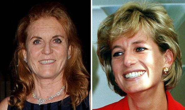 Sarah and Diana both married and divorced sons of the Queen Image GETTY