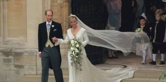 Sophie and Edwards royal wedding Image Getty