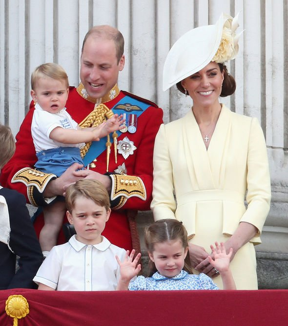 The Cambridge family arrived in Aberdeen yesterday to visit the Queen at her Scottish residence Image GETTY