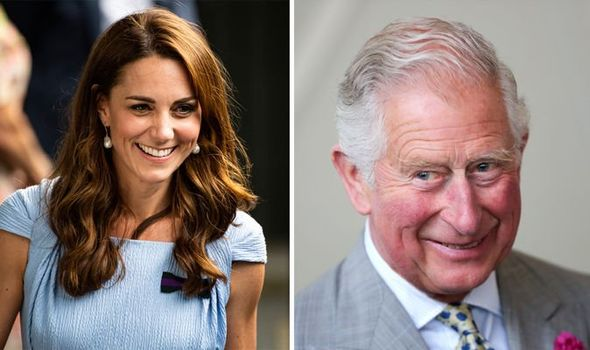 The Duchess of Cambridge and Prince of Wales Image Getty
