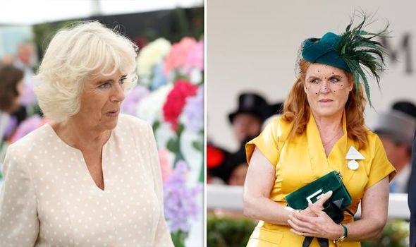 The Duchess of Cornwall and the Duchess of York Image Getty