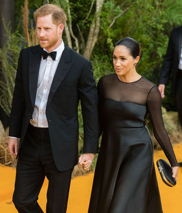 The Duke and Duchess of Sussex will apparently go to see Her Majesty on her summer break next month Image GETTY