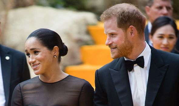 The Duke and Duchess of Sussex will be known as the Earl and Countess of Dumbarton Image GETTY