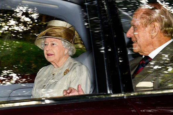The Queen and Prince Phillip have been attending the castle for years Image GETTY