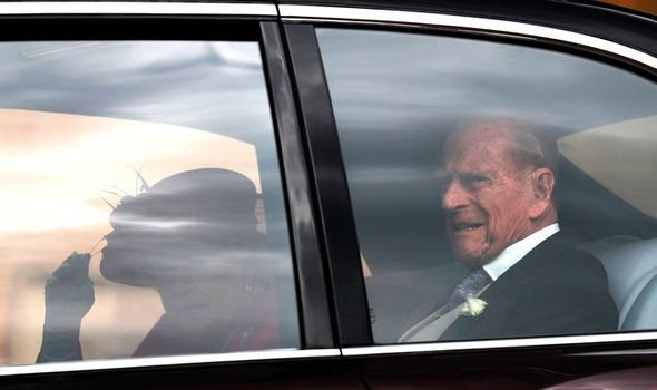The Queen and husband Prince Philip took time out of their annual Balmoral summer holiday Image GETTY