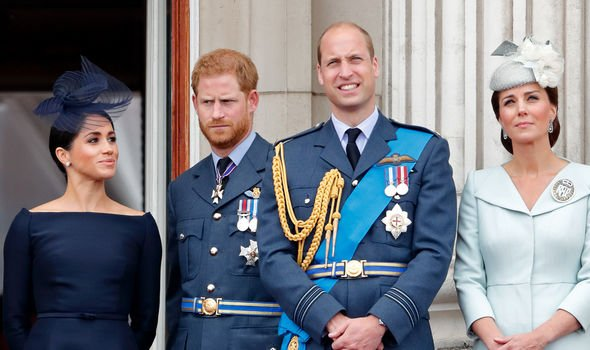 The Sussexes and the Cambridges at Trooping the Colour Image GETTY