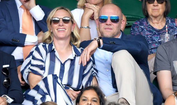 The couple at Wimbledon this year Image Getty