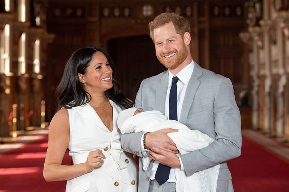 The couple will make the trip with baby Archie Image GETTY