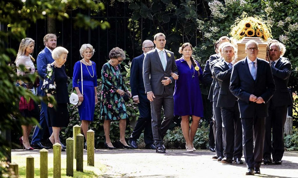 The funeral was a touching tribute to the late royal Photo C GETTY IMAGES