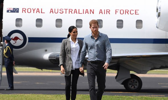 The pair has travelled with private jets four times in days Image GETTY