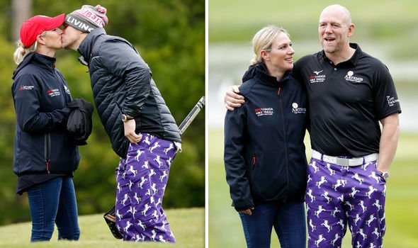 The pair played a charity golf tournament earlier this year Image Getty