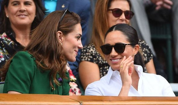The pair were seen smiling together at Wimbledon Image ABACA