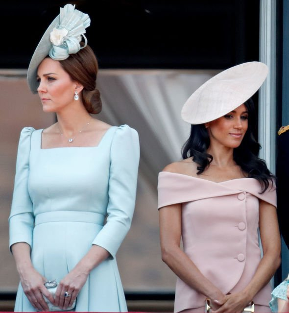 The two Duchesses are rumoured to not get on well Image Getty