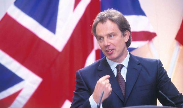 Tony praised Princess Diana in an emotional speech Image GETTY