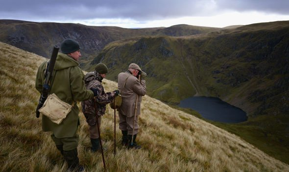 Traditional deer stalking in the Scottish Highlands Image Getty