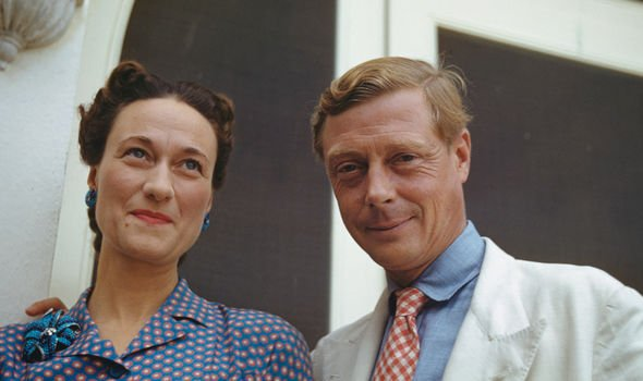 Wallis Simpson and Edward VIII became the Duchess and Duke of Windsor following the abdication Image GETTY
