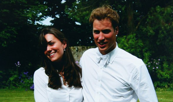 William and Kate the day of their graduation Image GETTY