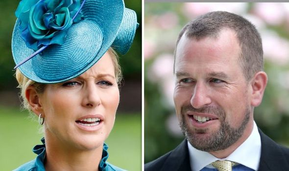 Zara Tindall and Peter Phillips Image GETTY