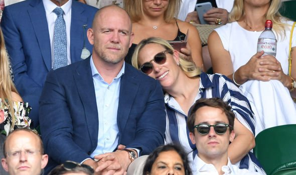 Zara Tindall bombshell Zara and her husband Mike are favourites of the Queens Image GETTY
