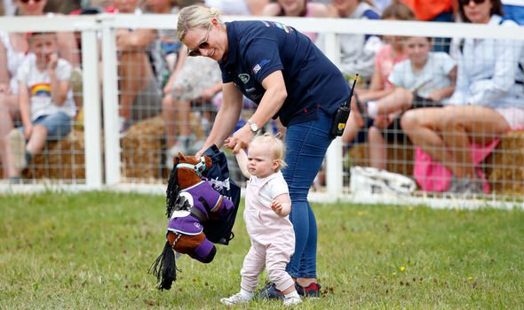 Zara Tindall bombshell Zara doesnt like the idea of her daughters getting tattoos Image GETTY