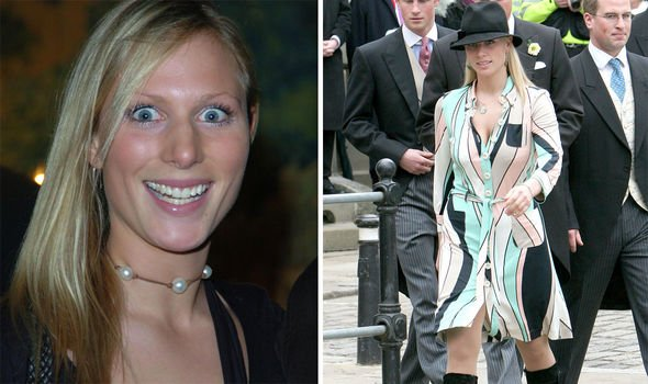 Zara Tindall bombshell Zara was dubbed a royal rebel growing up Image GETTY
