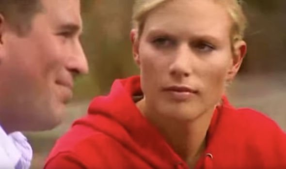 Zara Tindall nee Phillips gives her brother a look Image YouTube homeleigh