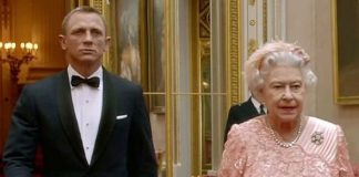 cropped James Bond took the Queen to the opening ceremony in a famous video during the Olympic Games Image GETTY