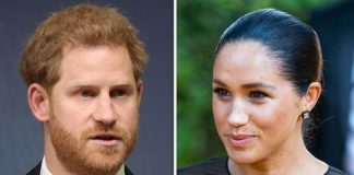 cropped Meghan Markle and Prince Harry have been warned about keeping Archies life private Image GETTY