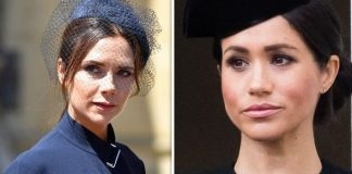 cropped Meghan Markle and Victoria Beckham have been friends for months now Image GETTY