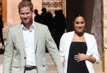 cropped Meghan Markle was pregnant during her trip to Morocco earlier this year Image GETTY